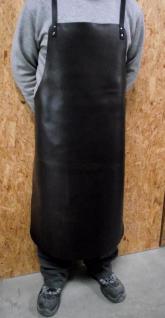 Premium Schweißerschürze, Schmiedeschürze, Lederschürze, Arbeitsschürze, - echt Leder - extra stark - 80x100 - stabile Riemen