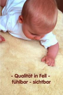 Marken Babyfell Lammfell von FÖRSTER-FELL - als Bettfell oder für den Kinderwagen, Buggy etc. - Vorschau 2