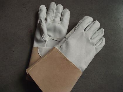 Spezial verstärkte Schweisserhandschuhe Made in Germany - Arbeitshandschuhe - Vorschau 2