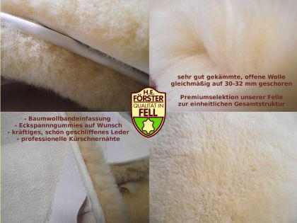 FÖRSTER FELL Lammfellunterbett Betteinlage Lammfell Unterbett 100x200 cm Bettfell - Vorschau 2
