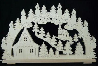 Schwibbogen Weihnachtshaus - Vorschau