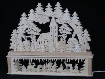 Schwibbogen Dorfkapelle klein