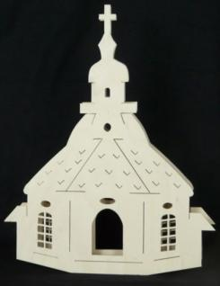 Doppeltes Fensterbild Seiffener kirche