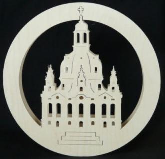 Doppeltes Fensterbild Frauenkirche - Vorschau