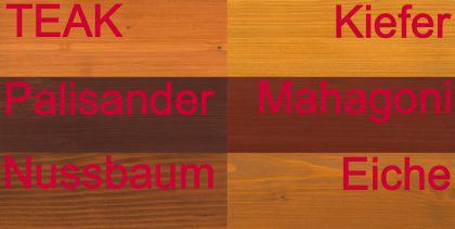 Massiver Holz Pflanzkasten Maße 100x40x40 cm CLASSIV lasiert nach Wunsch SchwibboLa - Vorschau 2
