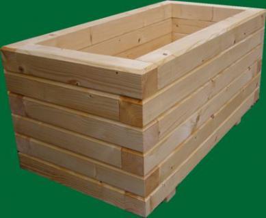 Massiver Holz Pflanzkasten Maße 40x40x40 cm imprägniert SchwibboLa