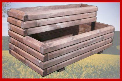 Pflanzkasten Stufenkasten 100x50x50cm