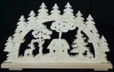 Schwibbogen Waldhütte