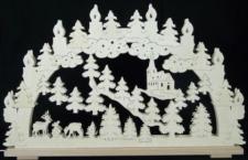 Schwibbogen Rehe im Wald