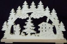 Schwibbogen Winterbild