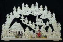 Schwibbogen Weihnachten im Erzgebirge