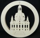 Doppeltes Fensterbild Frauenkirche