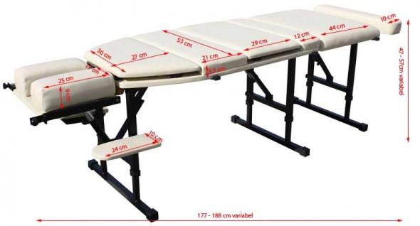 2013 portable Chiropraktik Liege beige - Vorschau 5