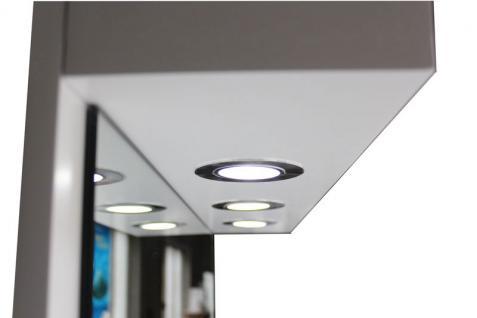 2026 Spiegel AOSTA einseitig mit LED, Schleiflack weiss - Vorschau 3