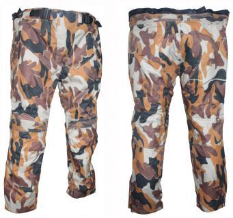 Motorrad Stiefelhose DEFENDER desert-camouflage