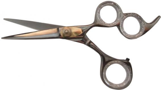 1020 professionelle eloxierte Friseurschere RH 5, 5 Zoll