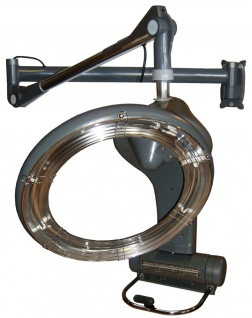 1955 IR-Climazon rotierend 1300W digital Wandarm silbergrau