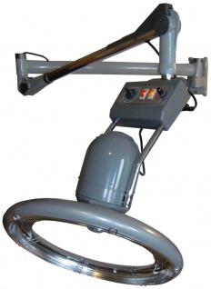 1953 IR-Climazon rotierend 950W analog Wandarm silbergrau