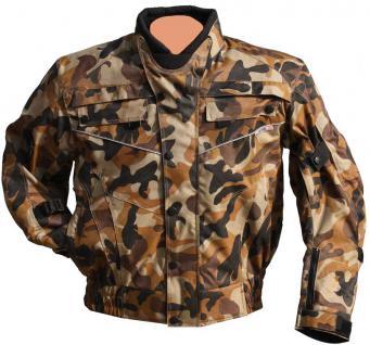 Motorrad-Blouson JEREZ desert-camouflage