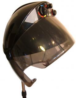 1949 Trockenhaube SPACE 1100W 3-Regler antistatic 5-Arm Stativ schwarz - Vorschau 2