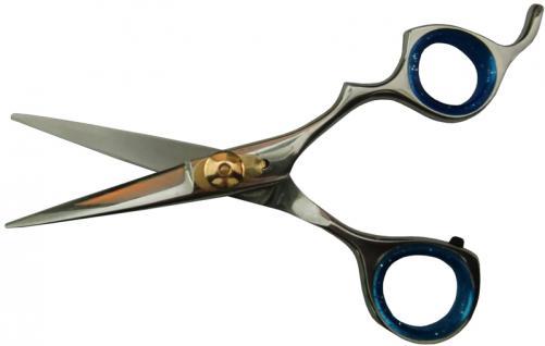 1023 professionelle eloxierte Friseurschere RH 5, 5 Zoll