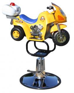 1311 Kinderstuhl Motorrad gelb