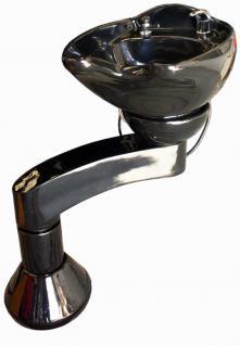 EINZELSTÜCK 1586 zweigelenkige drehbare Waschsäule schwarz C1 0512
