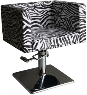 1374 Frisierstuhl MASSA-1 zebra