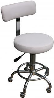 rollhocker weiss g nstig sicher kaufen bei yatego. Black Bedroom Furniture Sets. Home Design Ideas
