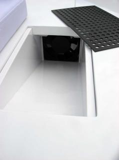 1072 Maniküre-Tresen mit Absaugung Schleiflack weiß (V.1) - Vorschau 4