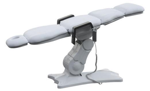 2064 elektrische Kosmetik-Fußpflegeliege weiß - Vorschau 2