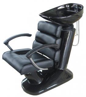 1096 RüWa SYRACUS 1 Sockel: schwarz Sitz: schwarz Becken: schwarz, 11cm - Vorschau