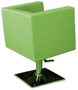 1217 Frisierstuhl MASSA-2 grün - Vorschau 3