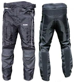 15006 Motorrad Stiefelhose ALIVE schwarz Grösse M normal