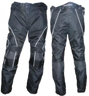 Motorrad Stiefelhose TRAVELLER schwarz
