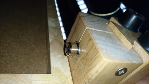 EINZELSTÜCK 1079 verstellbare Liege Metall/Holz schwarz B1 0595 - Vorschau 3