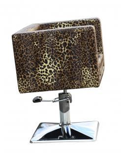 1374 Friseurstuhl MASSA Leopard-natur - Vorschau 4