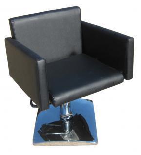 1162 Frisierstuhl Figaro MILANO schwarz - Vorschau 1