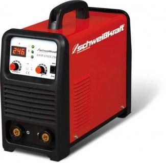 Schweißkraft EASY - STICK 250 SET - Elektrodeninverter