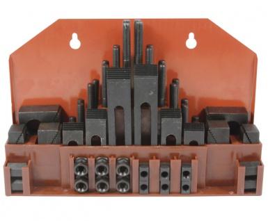 Elmag - Spannwerkzeug-Sortiment 58-teilig, M10 für T-Nut 12 mm