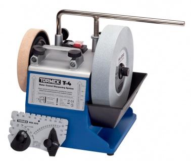Tormek T4 Nassschleifmaschine inkl. SE-77 Vorrichtung für gerade Schneiden - Vorschau 2
