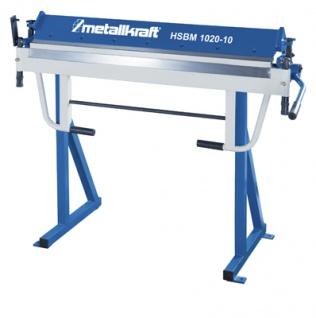 Metallkraft HSBM 1020-10 HS manuelle Schwenkbiegemaschine