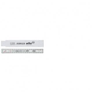 Wiha Longlife® Gliedermaßstab, 1 m, metrisch, 10 Glieder