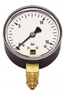 Schneider - MM-S 100 - Standard-Manometer senkrecht