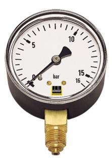 Schneider - MM-S 63 - Standard-Manometer senkrecht