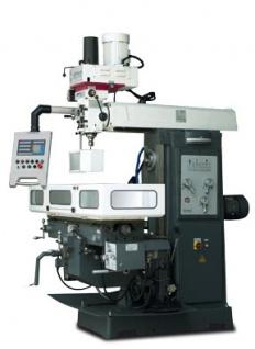 OPTIMUM MT 8 - Bohr-Fräsmaschine mit Werkzeugspannsystem