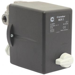 Elmag - Druckschalter CONDOR MDR 3 EA/11 bar, 400 Volt 6, 3 - 10 A