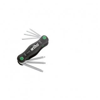 Wiha TORX®-Klapphalter kleiner PocketStar® - 7-tlg.