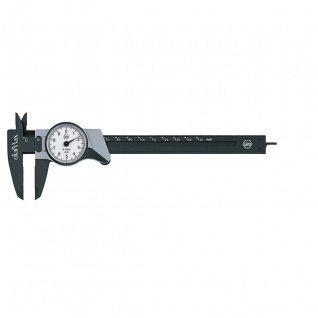 Wiha Uhrmessschieber dialMax®, Ablesung 0, 1 mm 150 mm
