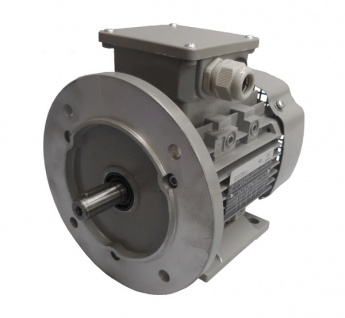 Drehstrommotor 0, 12 kW - 1500 U/min - B3B5 - 230/400V